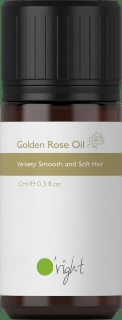 Golden Rose Oil - olje za lase z izvlečkom vrtnice