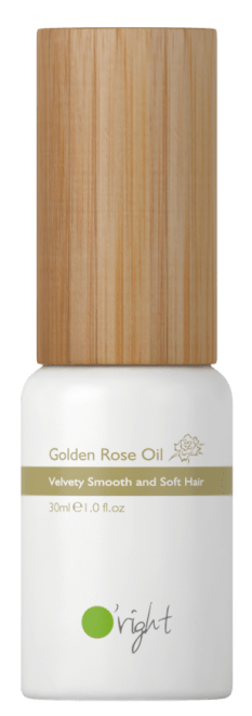Golden Rose Oil – Olje za lase z izvlečkom vrtnice 30ml