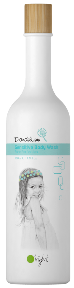 Dandelion Sensitive Body Wash-Nežen otroški gel za telo  400ml