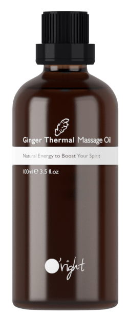 Ginger Thermal Massage Oil-Masažno olje z ingverjem 100ml