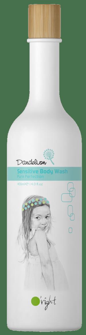 Dandelion Sensitive Body Wash - nežen otroški gel za telo