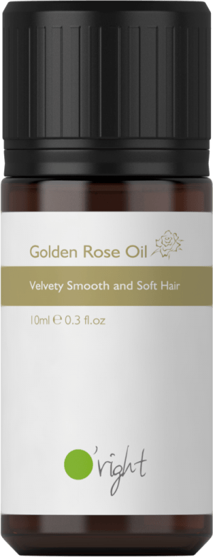 Golden Rose Oil – Olje za lase z izvlečkom vrtnice 10ml