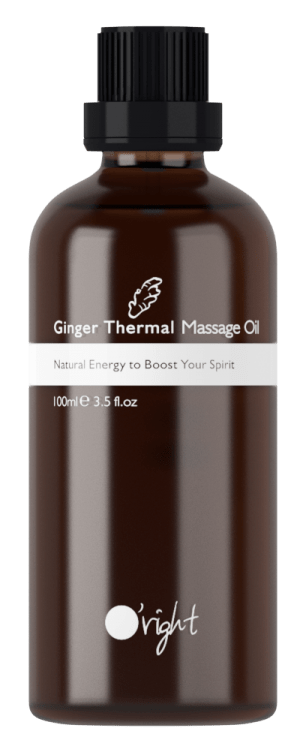 Ginger Thermal Massage Oil - masažno olje z ingverjem